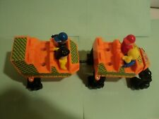 Knex Screamin Serpent Roller Coaster Cars Parts Pieces Screaming LoT