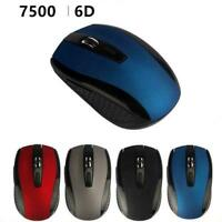 2.4GHZ Wireless Optical Mouse Mice & USB Receiver For PC Computer Laptop T5C2