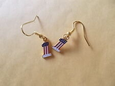 HARLEY DAVIDSON EARRINGS-NEW-old stock~RETIRED 1970's