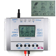 LCD 60A Interrupteur MPPT Panneau solaire Regulator Régulateur 12V / 24V Auto DC