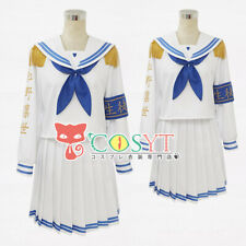 THE iDOLM@STER SHINY COLORS Morino Rinze Cosplay Cute Sailor Suit Custome Size