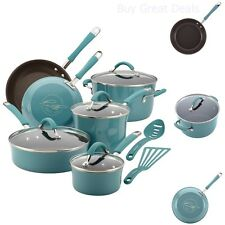 Rachael Ray Cookware Sets Pots And Pans Saucepans Skillets Nonstick - NEW