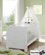 Kinderbettmatratze Kindermatratze Matratze 160x80x10cm Bezug Weiß gesteppt
