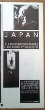 JAPAN All Tomorrow's Parties  magazine ADVERT / Poster 11x4  inches