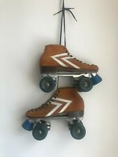 Vintage Riedell Suede IFO Roller Skates Women-Size 6 Mens-Size 7.5