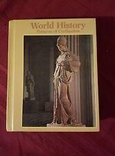 WORLD HISTORY PATTERNS OF CIVILIZATION HARD COPY