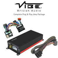 Vibe Mini F56 PowerBox 65.4M V7 260W RMS Class D 4 Ch Amp + Harness Plug & Play