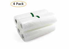 "Vacuum Seal Storage BagsSealer Rolls Food Saver Bags BPA Free 8""x197"" Vacuum"