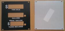 Gilbarco R60008-23 Legacy & Highline (H111B) K89762-01 face plate for bezel
