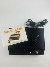 Vintage Record A Call Automatic Telephone Remote Answering System Model Auto 60A