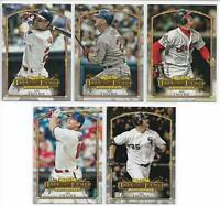 2018 Topps Update Jim Thome 5 Card Lot Complete Set of Hall of Fame Highlights