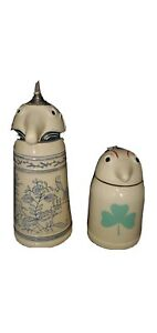 Vintage 1960 Schultz & Dooley German Beer Stein Set from Original 2nd Producion