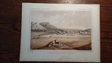"Lithograph ""MILK RIVER ..."" /John Mix Stanley / 1860 Railroad Survey Report"