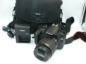 CANON 1300D | ZOOM LENS EF-S 18-55MM / 3,5-5,6 IS II | EOS DSLR| NFC/WLAN | 18MP