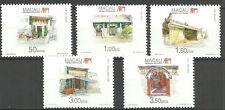 China Macau - Tempel Satz postfrisch 1995 Mi. 809-813