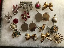 Vintage Mixed Lot Retro Charms and Pieces