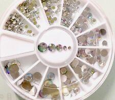 Rhinestone Nail Art Crystal Gem Mixed Sizes Craft Decor &Wax Picking Pencil Tool