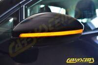 LED Dynamischer Spiegelblinker Black rLine - Dynamic turn signal VW Golf 7 5G0