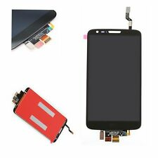 OEM LG Optimus G2 D802 Display LCD Vetro Dello Schermo Frontale Touchscreen Nero