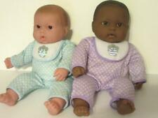 "Lot of Two Berenguer Baby Dolls 14"" open mouth Vinyl & Cloth for Play Reborn"