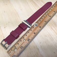 New Genuine Leather Brown Watch Band Strap~20mm Straight End+Special Lug Adapter