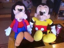 Il parlando Mickey Mouse & Pippo STORY dicendo a peluche Disney Lettore di cassette