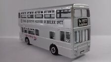 ESP162AUTOBUS BUS DINKY TOYS 297 THE QUEEN'S SILVER JUBILEE 1977 (12,5cms)