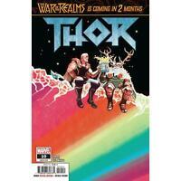 Thor #10 Jason Aaron Mike Del Mundo Odin Loki Variant Cover A Avengers