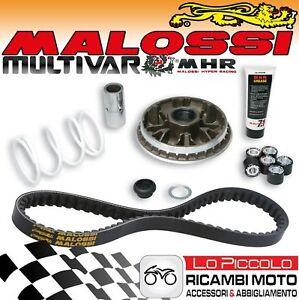 Cambiador MALOSSI Multivar MHR + Cinturón X K Belt Honda Forza 300 2010 2011