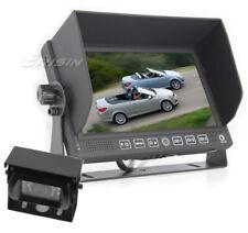 """Erisin 7"""" HD LCD Monitor 7 inch Reversing CCD Camera 12V/24V Truck/Caravan 313TA"""
