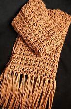 Civil War Reenactment Dickens Soft Cotton/Wool Crocheted Men'S Scarf