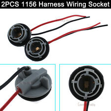 2pcs 1156 7506 Wiring Harness Socket For Turn Signal Tail Brake Light Bulb New