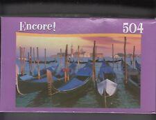 """MEGA BRAND ENCORE  504 PIECE PUZZLE of Venice Italy  NIB 10 3/4"""" BY 18"""""""