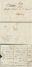 O) 1843 MEXICO. COMPLETE LETTER PREFILATELIC, FROM CHILAPA- RED RATE - 2 REALES,