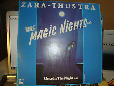 "RAR MAXI 12"". ZARA THUSTRA. MAGIC NIGHTS. MADE IN SPAIN. PDI"