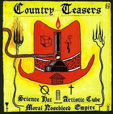 Country Teasers - Science Hat Artistic Cube Moral Nosebleed Empire [New CD]