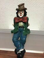 "Gilde Clown "" sitzend "" 20 cm. Top Zustand !!"