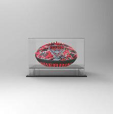 Football AFL Acrylic Perspex Display Case - Essendon Bombers Football Display