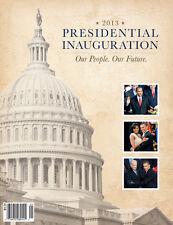 2013 President Barack Obama Official Inaugural Program