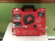NEW IN BOX Milwaukee 3521-21 USB Rechargeable Green Cross Line Laser SHIPS FREE