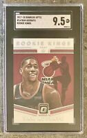 2017-18 DONRUSS OPTIC ROOKIE KINGS BAM ADEBAYO RC SGC 9.5