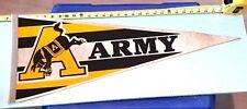 "VINTAGE ARMY KICKING MULE PENNANT- 30"" LONG {CL31}"