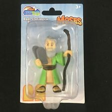 Bible Toys PVC Figure Moses Real Stories From Bible Biblical Characters