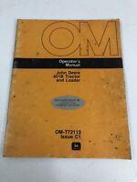John Deere JD401-B Tractor and Loader Operator's Manual