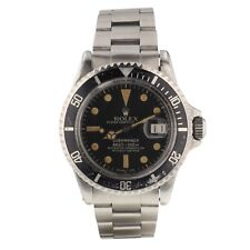 Rolex Submariner Steel 40 mm Black Dial Automatic Watch 1680 Circa 1968 With Box