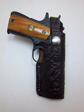 Browning 1911 22/ .380 Cape Buffalo Leather Holster (OWB) Right Hand Draw RH