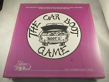 THE CAR BOOT BOARD GAME LEFRAN GAME-  FAMILY SKILL  -  RARE 1997