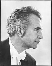 ~ Jazz Pianist Dave Brubeck Original 1970 Stamped Agency Promo Portrait Photo
