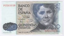 More details for 1979 spain 500 pesetas note | bank notes | pennies2pounds