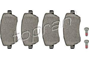 Front Disc Brake Pad Set Fits RENAULT DACIA MERCEDES Captur D1060AX61A